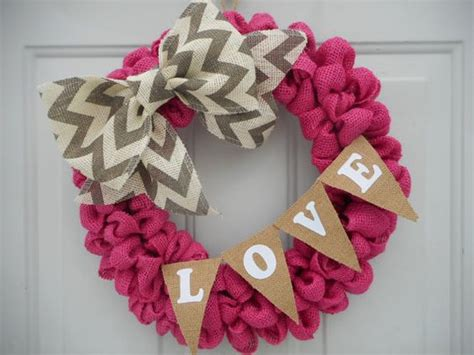 Pink Burlap Valentine Wreath, Valentine Wreath, Valentine Exterior Wall Panels Home Depot Locking File Cabinets For The Doors Prices Cost Modern Decoration Ideas Living Room Dining Transformations 3d Design Software Free