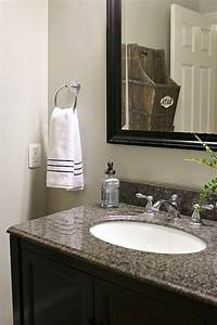 small bathroom makeovers Small Bathroom Makeover and Organization Ideas - Clean and ...