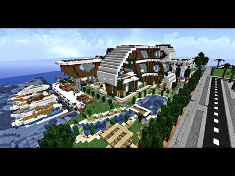 minecraft maisons modernes villas de luxe